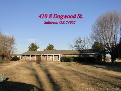 Sallisaw Single Family Home For Sale: 410 Dogwood Street