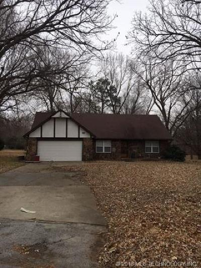 Broken Arrow Single Family Home For Sale: 7815 S Townsend Avenue