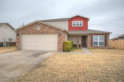 Broken Arrow OK Single Family Home For Sale: $182,500