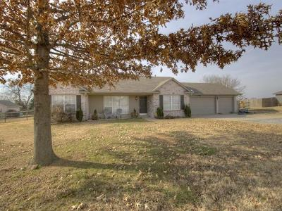 Claremore Single Family Home For Sale: 20142 S Klamath Street