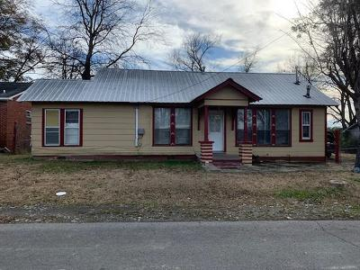 Sallisaw Single Family Home For Sale: 108 E Vine Avenue