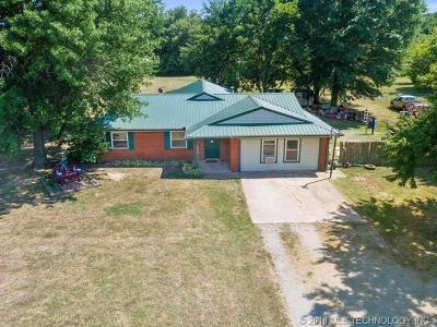 Claremore Single Family Home For Sale: 18960 E 430 Road