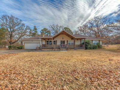 Okmulgee Single Family Home For Sale: 1513 S Woodland Drive
