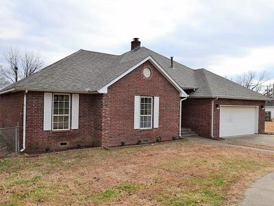 Fort Gibson Single Family Home For Sale: 522 N Willey Street