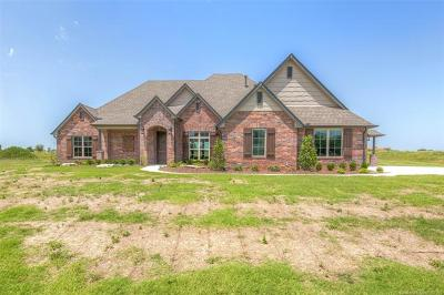 Collinsville Single Family Home For Sale: 14812 N 144th East Avenue