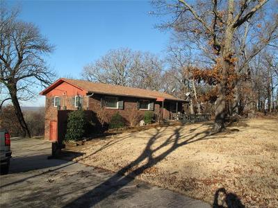 Cookson OK Single Family Home For Sale: $184,900