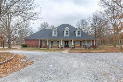 Catoosa Single Family Home For Sale: 30050 E 6th Street