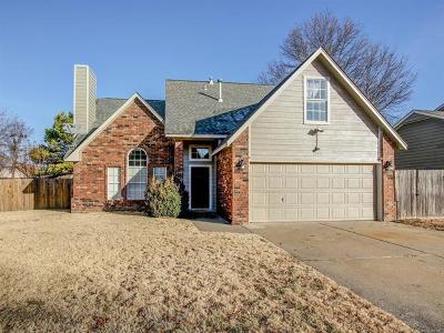 Broken Arrow Single Family Home For Sale: 1218 W Edgewater Place