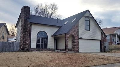 Owasso OK Single Family Home For Sale: $142,500