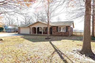Coweta Single Family Home For Sale: 17555 S 324th East Avenue