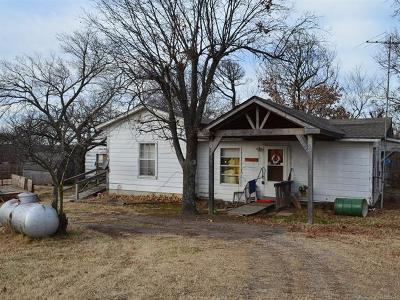 Mannford Single Family Home For Sale: 35149 W Highway 33 Road