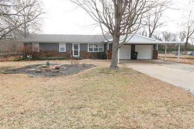 Collinsville OK Single Family Home For Sale: $159,000