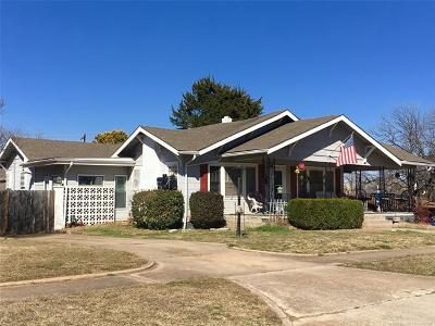 Ada Single Family Home For Sale: 300 W 17th Street