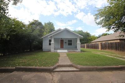 Sapulpa Single Family Home For Sale: 814 S Independence Street