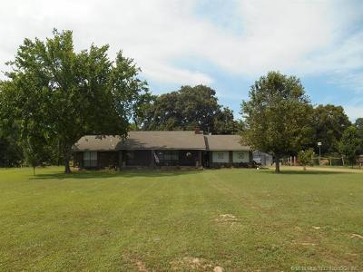 Muldrow Single Family Home For Sale: 473135 E 1080 Road