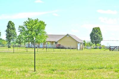 Wagoner Single Family Home For Sale: 29216 E 760 Road