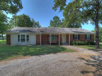 Sapulpa Single Family Home For Sale: 10166 W 186th Street S
