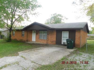 Okmulgee Single Family Home For Sale: 1204 N Taft Avenue
