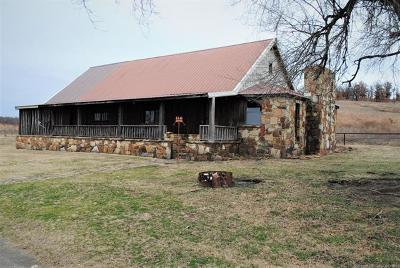Pawhuska Single Family Home For Sale: 1915 County Road 4860