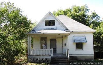 Muskogee Single Family Home For Sale: 321 N 7th Street