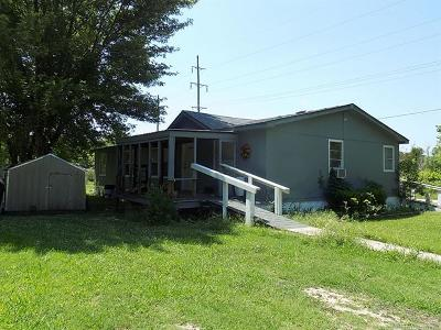 Holdenville OK Single Family Home For Sale: $39,500