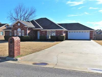 Sallisaw Single Family Home For Sale: 1910 Winterpark Drive