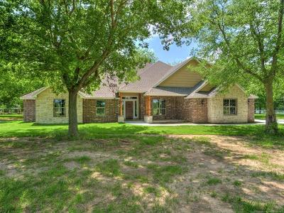 Claremore Single Family Home For Sale: 4470 E 490 Road