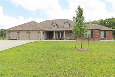 Barnsdall Single Family Home For Sale: 186 County Road 2470