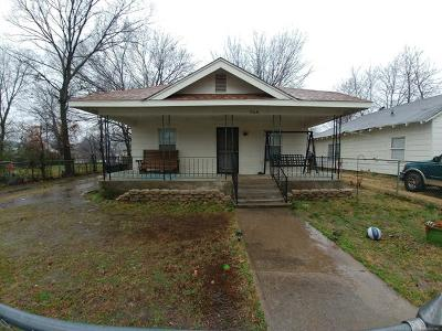 Okmulgee Single Family Home For Sale: 704 N Griffin Street