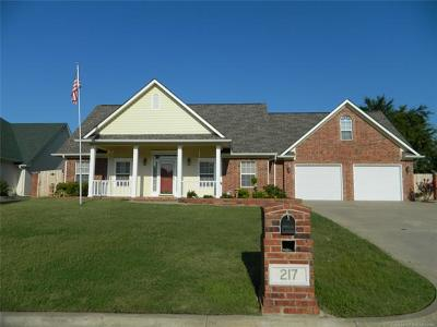 Fort Gibson Single Family Home For Sale: 217 Coventry Lane