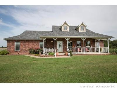 Beggs Single Family Home For Sale: 8250 N 242 Road N