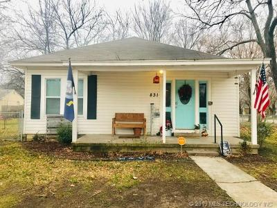 Ada Single Family Home For Sale: 831 W 7th Street