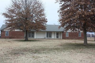 Collinsville Single Family Home For Sale: 16009 N 146th East Avenue
