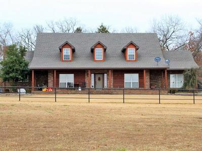 Sallisaw Single Family Home For Sale: 465289 E 1050 Road