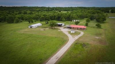 Nowata Single Family Home For Sale: 129 Nowata Hc 62 Road