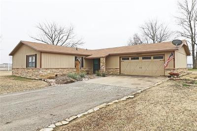 Bartlesville Single Family Home For Sale: 402981 W 2150 Drive