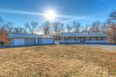 Claremore Single Family Home For Sale: 13651 S 4200 Road