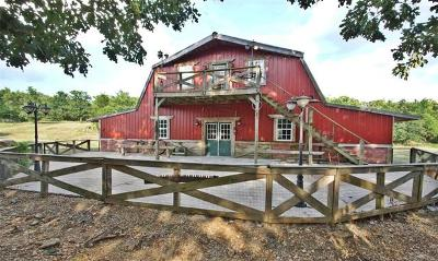 Tahlequah Single Family Home For Sale: 48484 Hwy 82 A