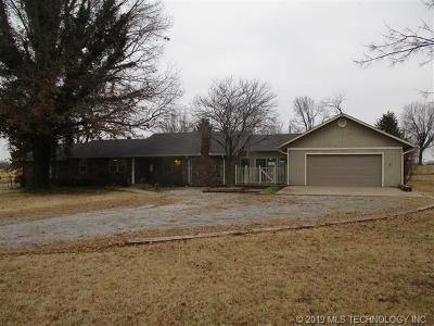 Fort Gibson Single Family Home For Sale: 1498 E Benge Road