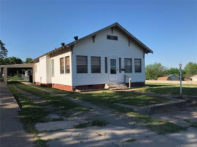 Drumright Single Family Home For Sale: 137 E Maple Street