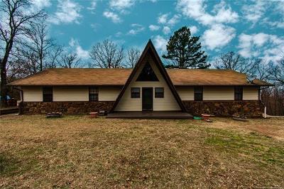 Tahlequah OK Single Family Home For Sale: $194,900