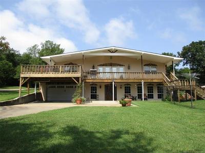 Stigler Single Family Home For Sale: 113 E Bk 800 Road