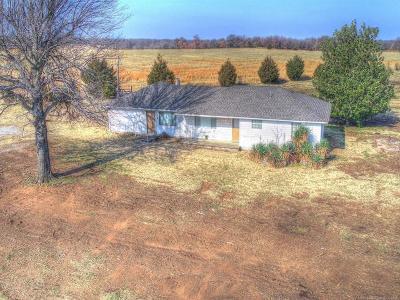 Claremore Single Family Home For Sale: 18905 E 480 Road