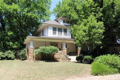 Okmulgee Single Family Home For Sale: 502 N Morton Avenue