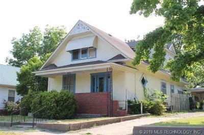 Nowata Single Family Home For Sale: 229 N Pine Street