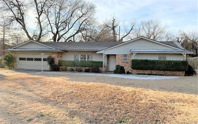 Ada OK Single Family Home For Sale: $169,900