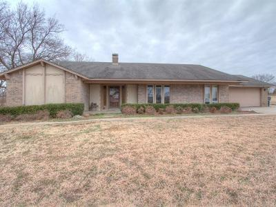 Tulsa County Single Family Home For Sale: 2922 W 120th Street S