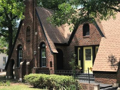Ada Single Family Home For Sale: 404 W Kings Road
