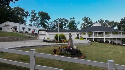 Wagoner Single Family Home For Sale: 34467 E 698 Road