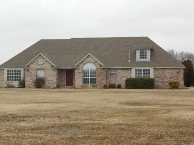 Wagoner Single Family Home For Sale: 26535 State Highway 51 Highway